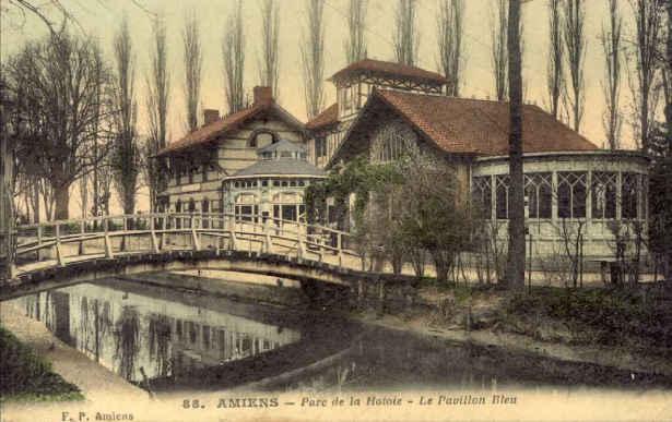 pavillon bleu Amiens