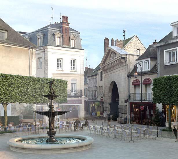 fontaine Compiègne