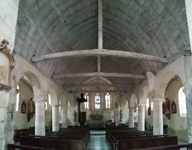 église saint eloi leglantiers